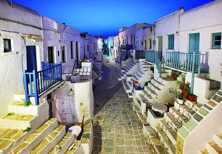 #Folegandros. A scene from a movie....  Such a romantic place...  Imagine yourself walking on these beautiful alleys... under the light of a full moon....  So different... so special!  Greece awaits for you!