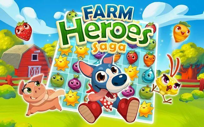Farm Heroes Saga Hack Unlimited Magic Beans Gold Bars Farm Heroes Farm Hero Saga Saga