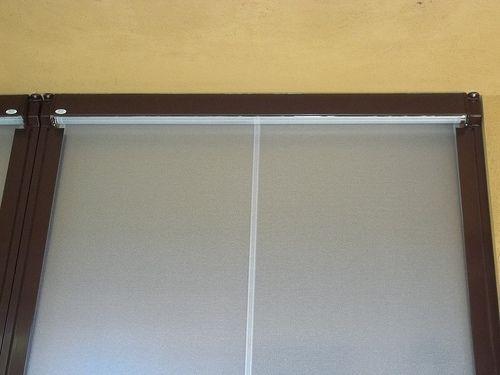 Tenda veranda invernale ermetica con frangivento e tessuto VINITEX retinato antingiallimento Torino www.mftendedasoletorino (16)