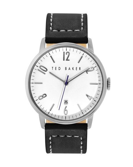 Classic round face watch - Silver | Watches & Jewelry | Ted Baker