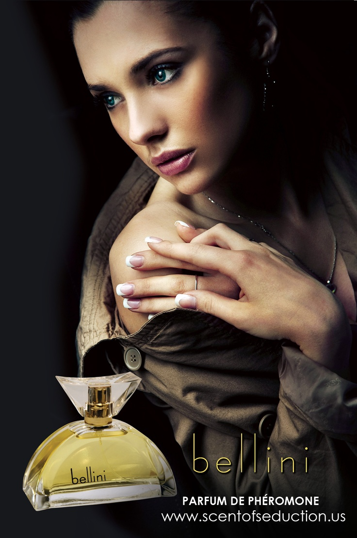 bellini Parfum de Phéromone -  This dramatic dark blue parfum  is warm, earthy and sweet.  Opening with a soft and buttery hue this very unique fragrance gently melts into a delicious bowl of vanilla, caramel and chocolate.  It's unique oriental-gourmand heart is soft yet strong, pure yet seductive as it recalls dreams and fantasies of the past.  Bellini's Phero-notes create a sense of approachability, sensual attraction and trust that bring to life an addictive scent with a carnal…