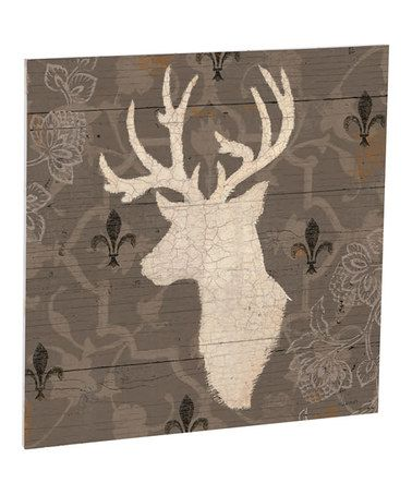 Look what I found on #zulily! Rustic Buck Profile Outdoor Wall Art #zulilyfinds