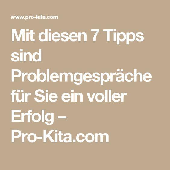 Mit diesen 7 Tipps sind Problemgespräche für Sie ein voller Erfolg – Pro-Kita.com