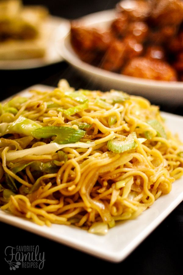 This Panda Express Chow Mein recipe is so easy to make and tastes exactly like the Panda Express side dish. Have Panda at home for a fraction of the price!