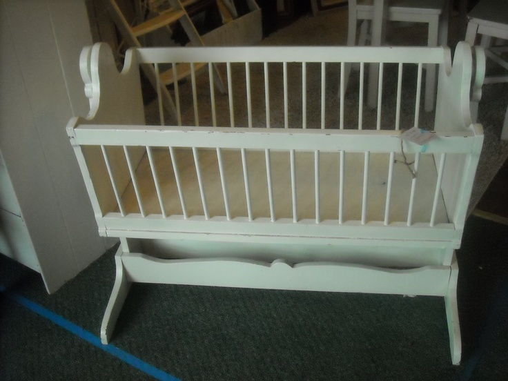 Shabby Chic Baby Craddle $50.00