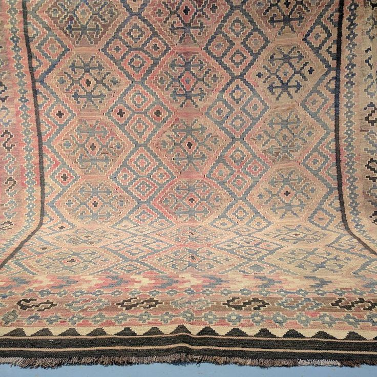 For over a year, our Afghan scouts searched through local bazaars and handpicked the best examples of vintage Kyber Mori kilims. Prior to importing, each piece was carefully examined, restored and cleaned.  Every piece within this collection is loaded with rustic beauty and features soft and mature colour tones; specific to vintage kilims. 🌸  To view our entire collection, please visit us at our Rozelle warehouse. ⭐  #afghan #bazaar #bazaars #vintagestyle #vintagerug #vintage #kilims #kilim…