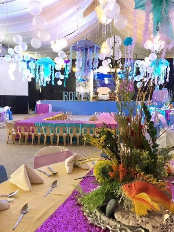 Tropical-Under-The-Sea-Adventure-Party-Kid-Seating #babyshowerideas4u #birthdayparty #babyshowerdecorations #bridalshower #bridalshowerideas #babyshowergames #bridalshowergame #bridalshowerfavors #bridalshowercakes #babyshowerfavors #babyshowercakes