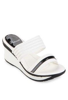 jual sepatu wanita murah berkualitas: Sepatu wanita Tracce Female Wedge Sandals