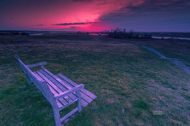 Look at that sunrise today! Cape Cod National Park - Eastham. © Dapixara Capecod images https://dapixara.com