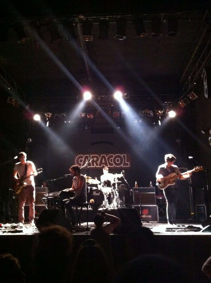 The Coronas (Ireland) en Caracol dic 2012