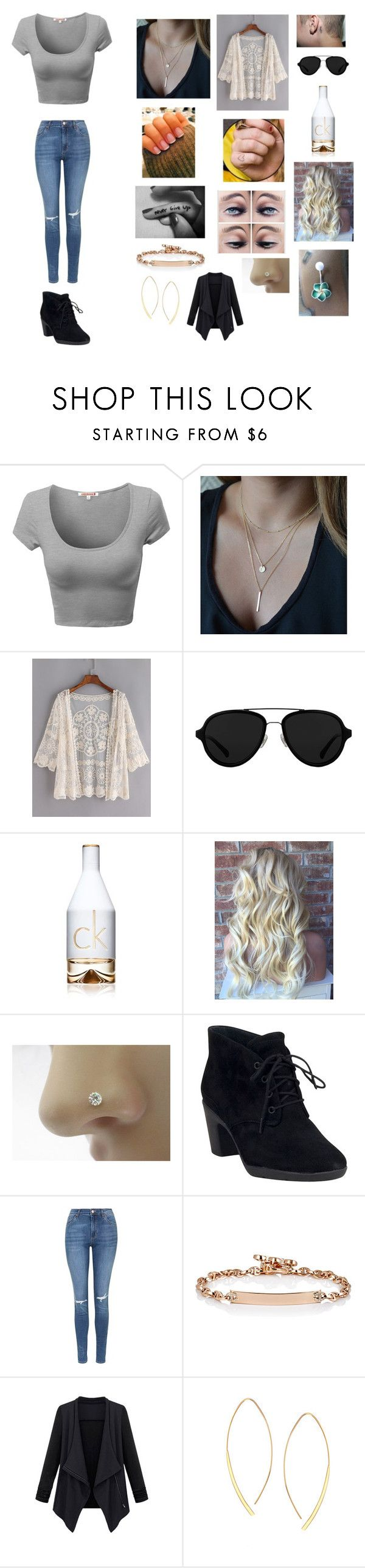 Untitled #213 by katrine-frid on Polyvore featuring Topshop, Clarks, Lana, Hoorsenbuhs, 3.1 Phillip Lim and Calvin Klein