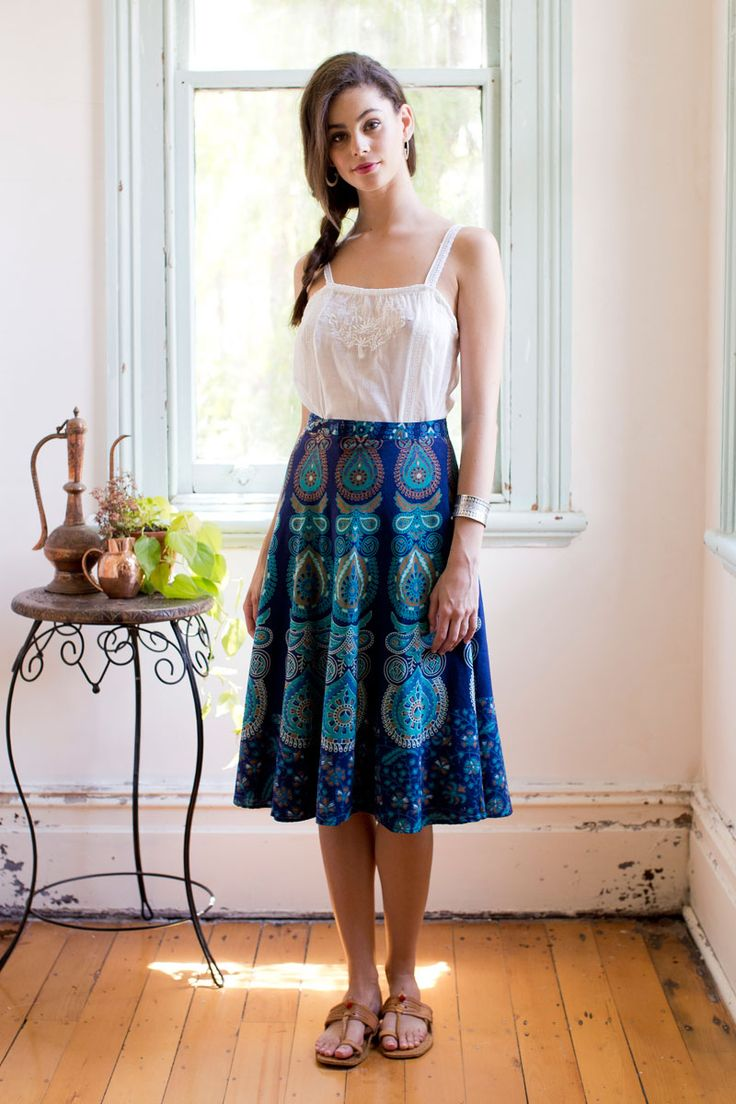 Mandala Wrap Skirt
