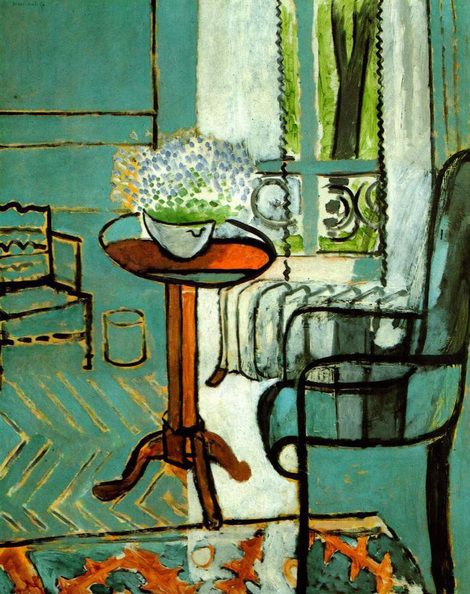 Henri Matisse, The Window, 1916 on ArtStack #henri-matisse #art