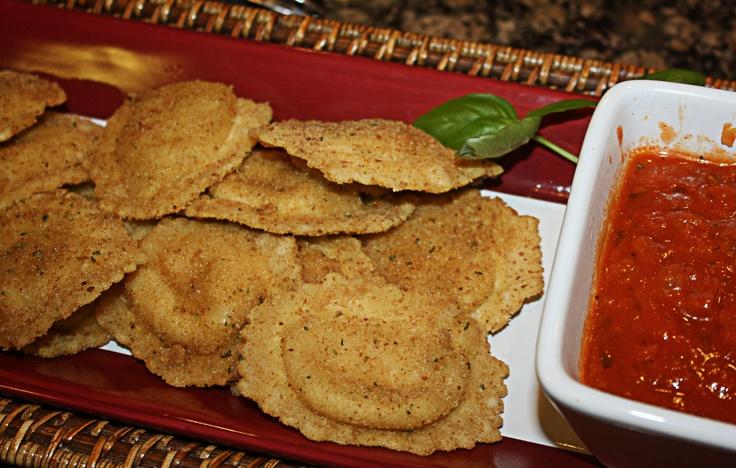 Fried ravioliPasta Dinner
