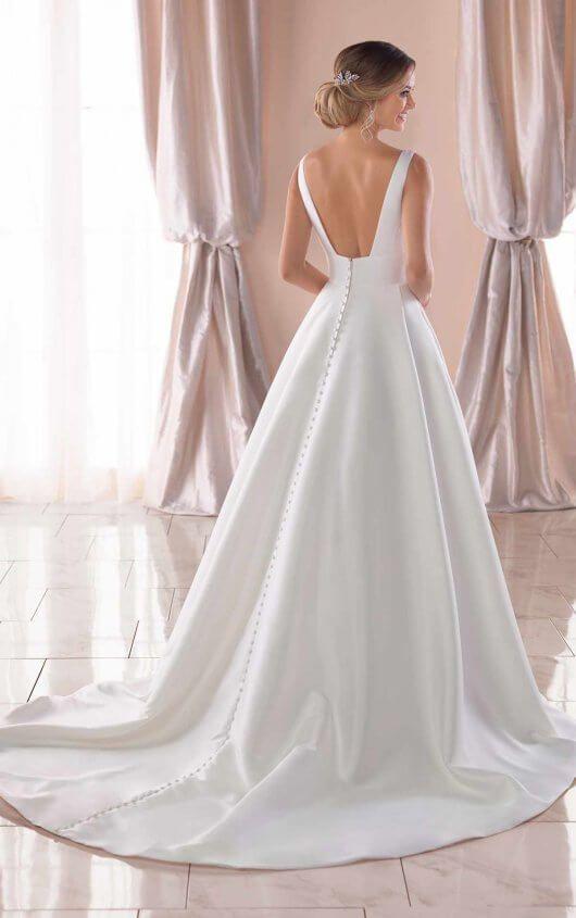 af3fdbec720 Royal-Inspired Simple Wedding Dress - Stella York Wedding Dresses in ...