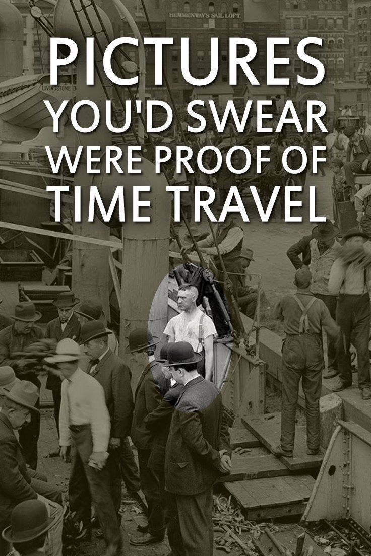 These time travelers were on the spotlight the moment they were known...