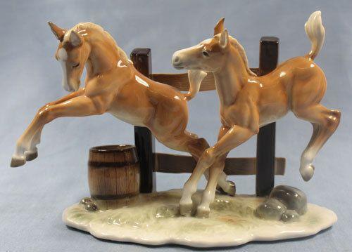 rare horse porcelain hutschenreuther netzsch figurine porcelainfigurine  1940 #1648485