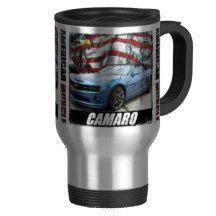 2012 Camaro SS Convertible Hot Wheels Edition Travel Mug