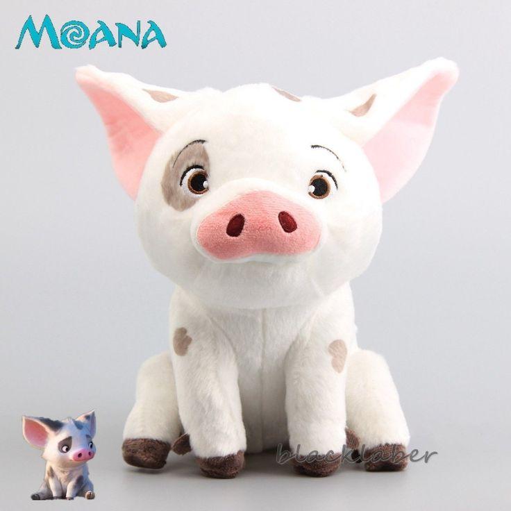 12 79 Moive Moana Pua The Pet Pig Plush Doll Soft
