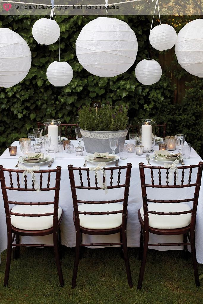 Dreamy Outdoor Weddings Receptions Paper Lanterns And Wedding