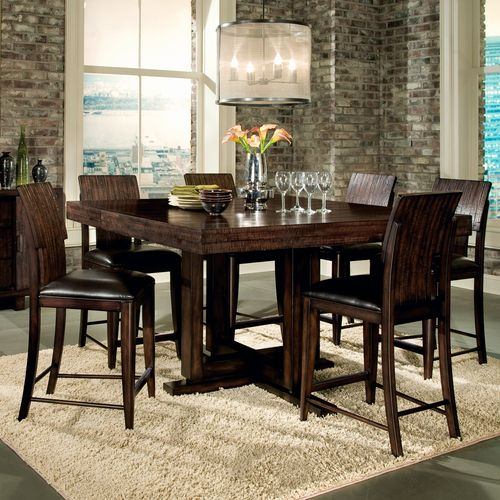 48 Square Dining Room Table: Portland Counter Height Dining Table & Stools Legacy Classic