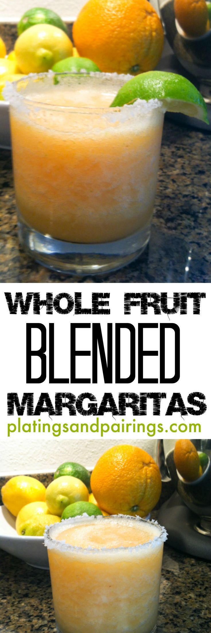Cinco de Mayo! Just throw in the fruit, ice, blend and ENJOY!