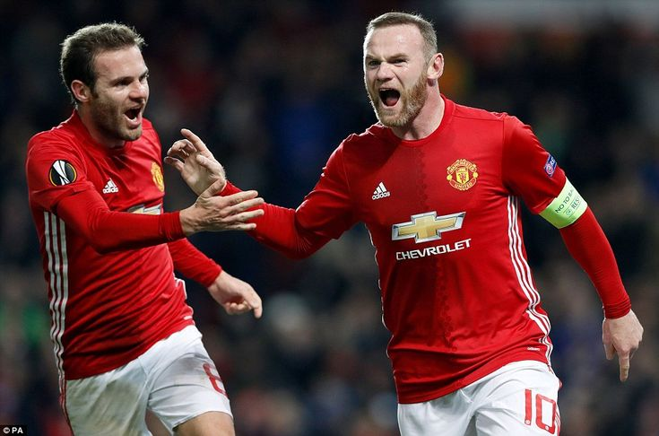 Rooney has faced some firece criticism over his form this season but performed well and scored for Jose Mourinho's men