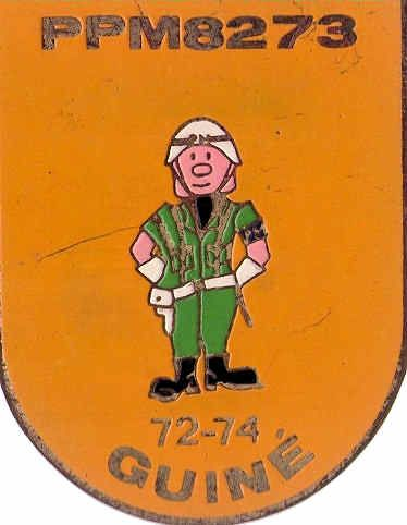 Pelotão de Polícia Militar 8273/72 Guiné 1972/1974
