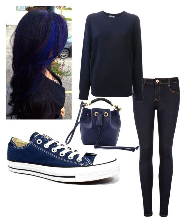 """""""All blue"""" by fallingangelk on Polyvore"""