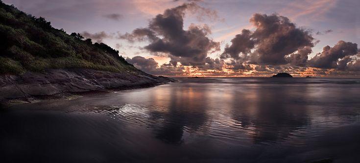 Sunrise at Jureia by Cristian Malevic