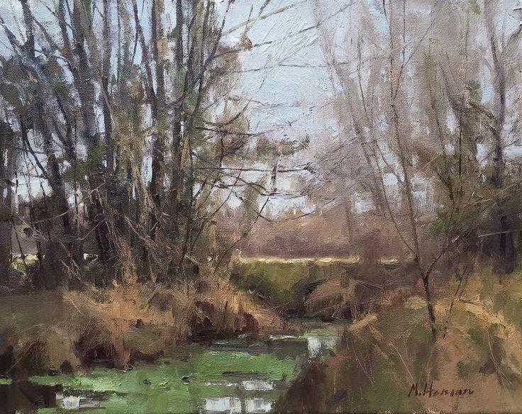 Marc Hanson Landscape paintings, Landscape artist, Landscape
