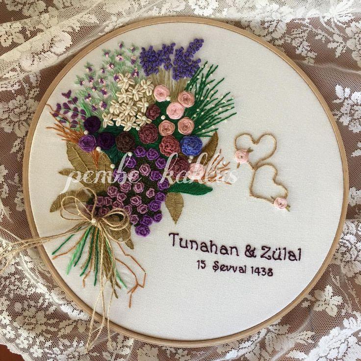 """좋아요 879개, 댓글 28개 - Instagram의 Yasemin(@pembe_kaktus)님: """"   #embroidery #embroideryart #brezilyanakisi #ceyiz #ceyizim #ceyizmidedin #ceyizhazirligi…"""""""