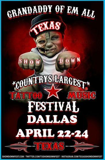 Tattoo and Music festival Dallas 2016