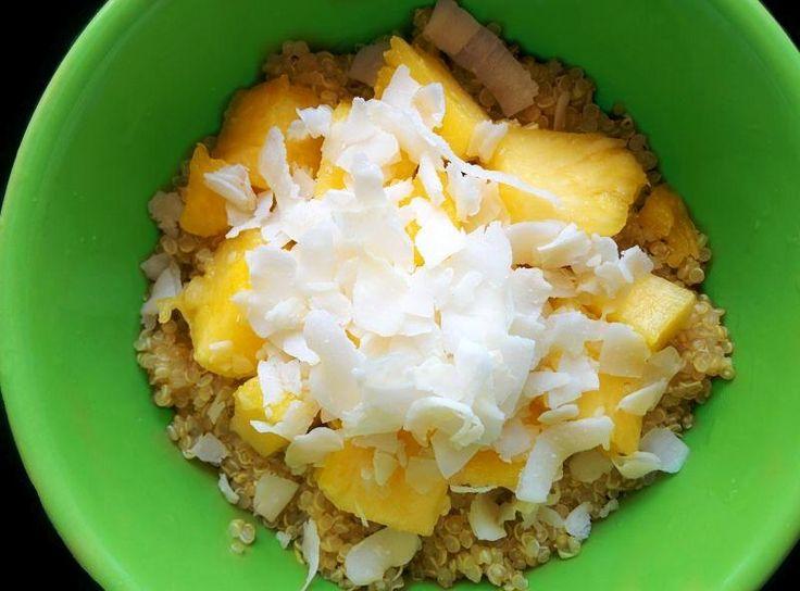 Exotic Coconut-Pineapple Quinoa