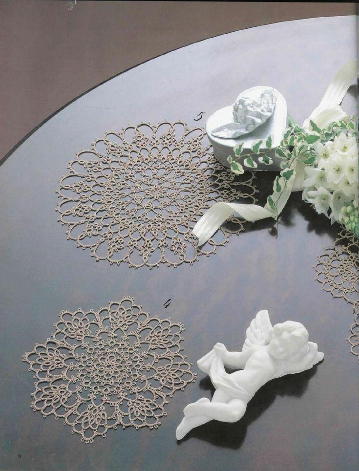 Tatting lace nihon