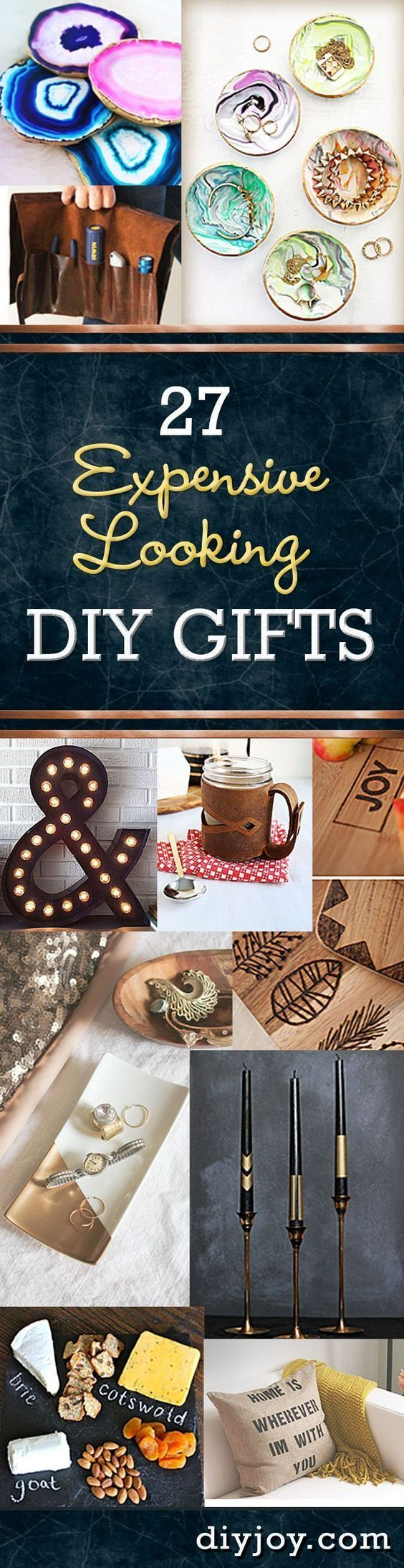 Inexpensive DIY Gifts and Creative Crafts and Projects that Make Cool DIY Gift Ideas CHEAP! Cheap DIY Ideas for Handmade Christmas Presents, Holiday Gifts and Birthday Gift - Step by Step Tutorials and Instructions