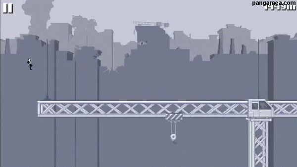 Canabalt - Simple and fast-pased platform action game