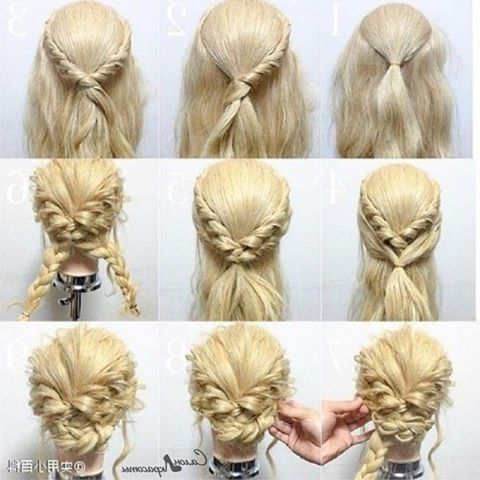 33 Easy Updo Hairstyles You Will Like