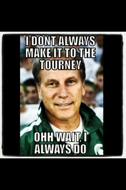 Tom Izzo, the Patron saint of March