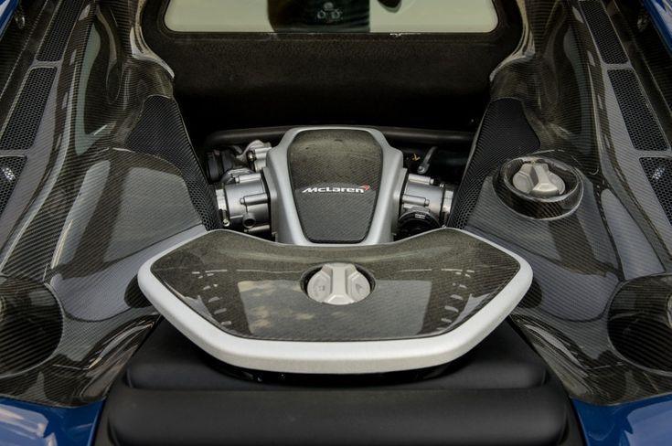 McLaren 650S Provkörning