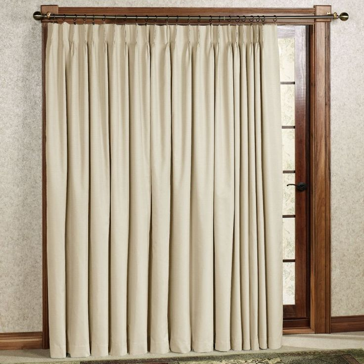 Furniture: Stunning Curtains Over Sliding Door Blinds Also Curtain Rods For Sliding  Doors From 5