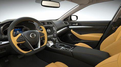 New 2018 Nissan Maxima Interior Design