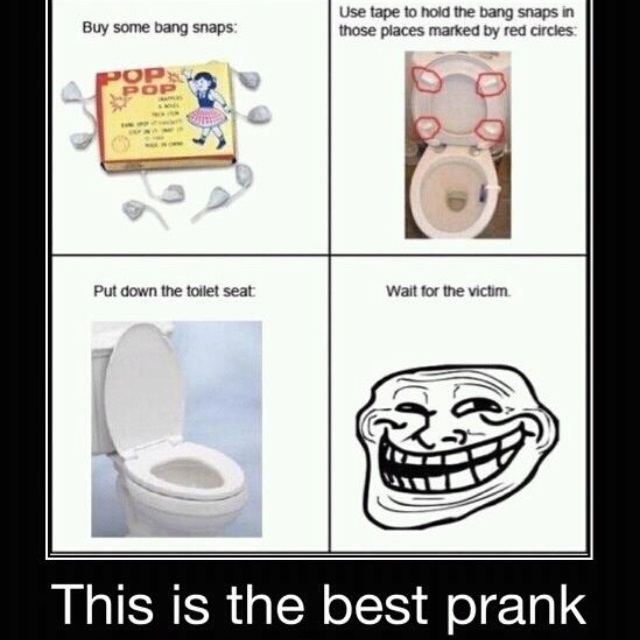 LMAO!Ideas, Laugh, Toilets Seats, April Fools Pranks, April Fools Day, Funny Stuff, Humor, Things, Funny Pranks