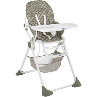 #Chaise #haute #Pocket #Lunch - Moonlight #chicco #compacte #