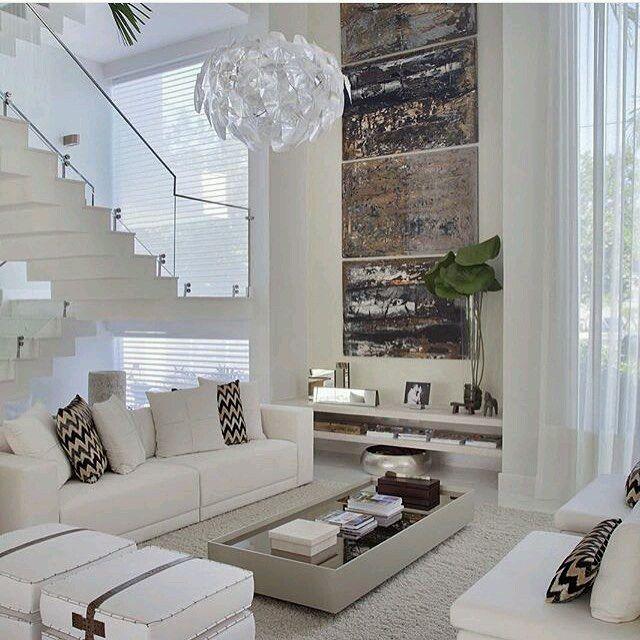 25 melhores ideias sobre p direito duplo no pinterest for Como e living room em portugues
