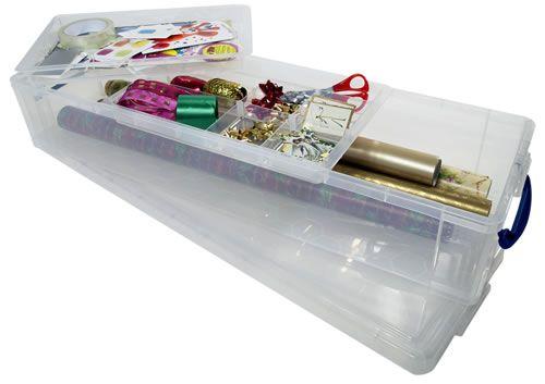 Gift Wrap Storage Box