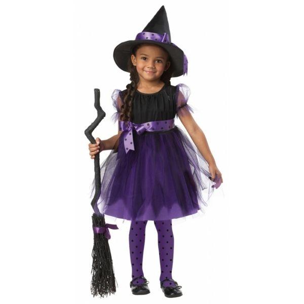 süße Hexe Kostüm Kinder-Fasching 2013