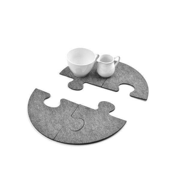 #niezchinzpasji CirclePuzzle w Felt Label na DaWanda.com