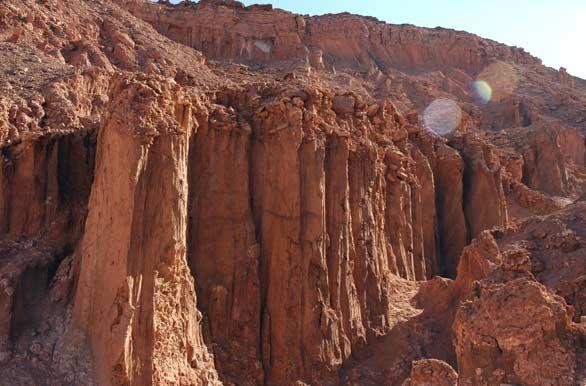 San Pedro de Atacama   Chile  Cerro de la muerte