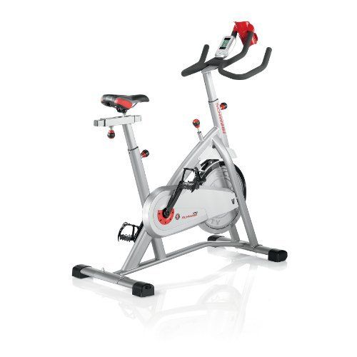 the schwinn indoor cycling bike simulates the reallife cycling feel of an outdoor bike in a controlled indoor the comfort